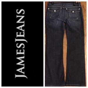 NWOT James Jeans- Wesley Dark Jeans. Sz 26